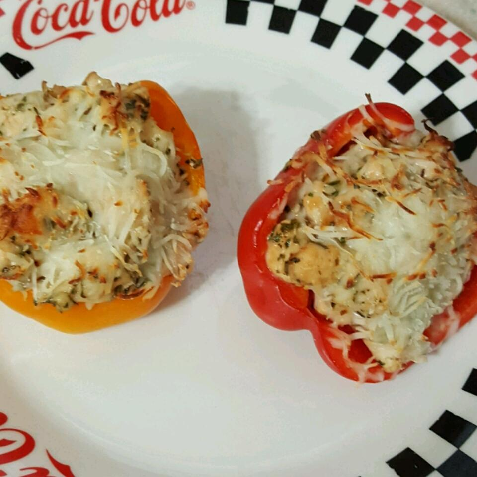 Dila's Chicken-Stuffed Peppers