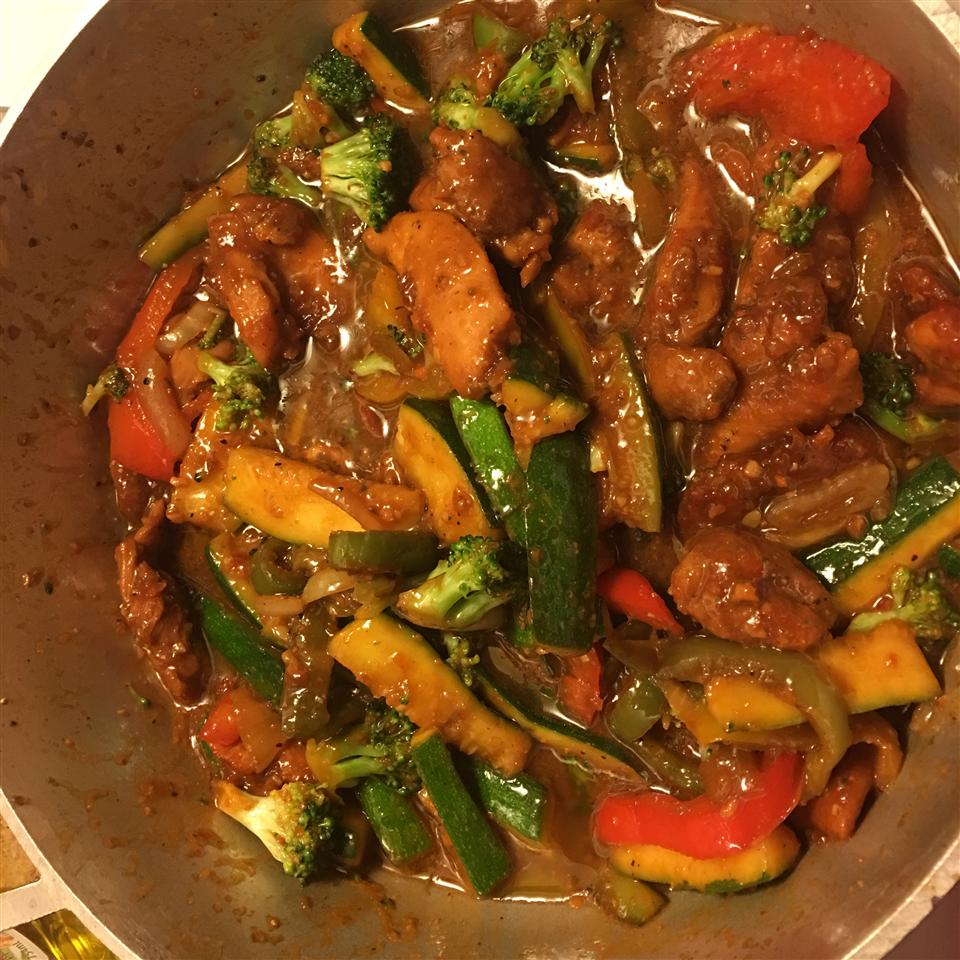 Stir-Fry Chicken and Vegetables