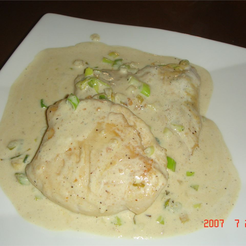Mushroom Chicken Dijon Mike