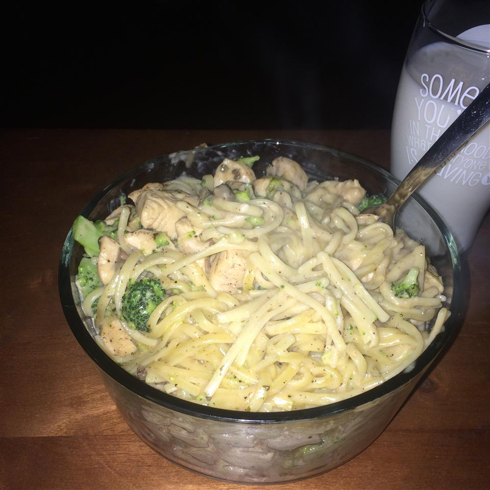 Chicken and Broccoli Alfredo Ethan Winel