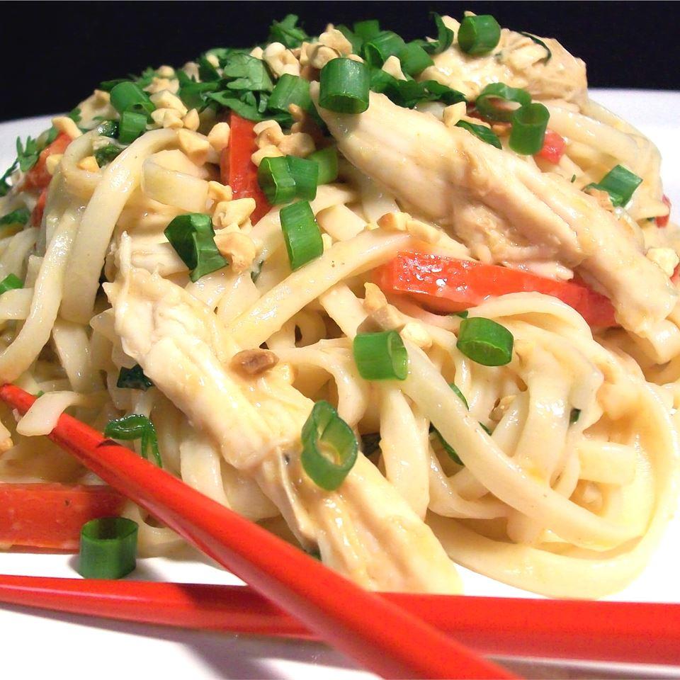 Udon Peanut Butter Noodles SunnyByrd