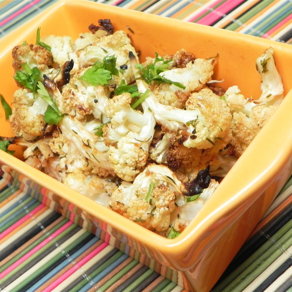 Big Ray's Paleo Roasted Cauliflower