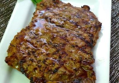 Cuban Marinated Steak