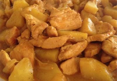 Adriel's Chinese Curry Chicken