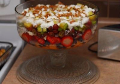 Eight-Layer Fruit Salad Supreme