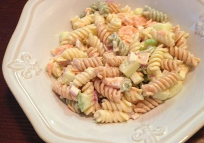 Smoked Salmon Pasta Salad
