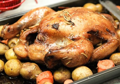 Roasted Herb Chicken and Potatoes