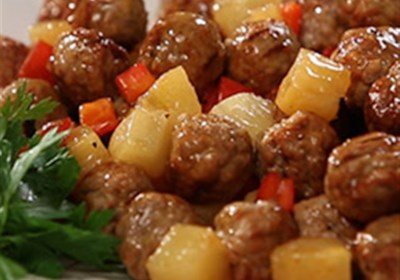 Tiffany's Sweet and Spicy Meatballs