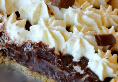 Double Layer Chocolate Pie