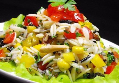 Bellepepper's Orzo and Wild Rice Salad