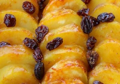 Sweet Potatoes with Brandy and Raisins