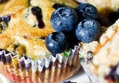 Alienated Blueberry Muffins