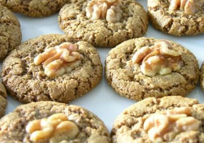 The Rebbetzin Chef's Persian Walnut Cookies