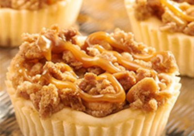 RITZ New York-Style Mini Crumb Cheesecakes