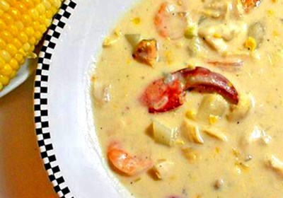 Danielle's Seafood Chowder