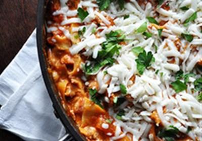 Easy Cheesy Skillet Lasagna