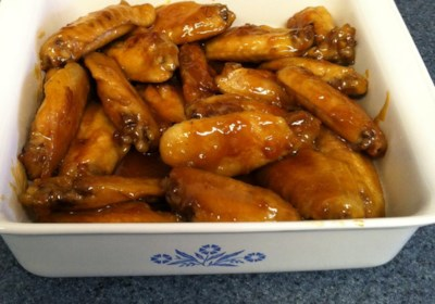 Orange Glazed Chicken Wings