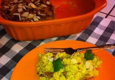 Indian-Inspired Cauliflower and Potato Casserole