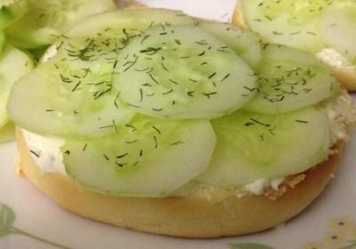 English Tea Cucumber Sandwiches