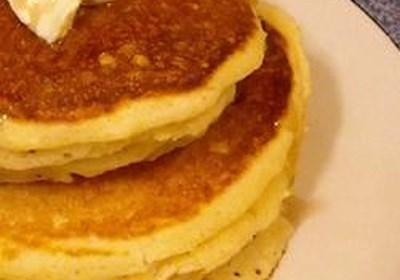 Corn Muffin Pancakes