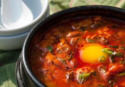 Korean Soft Tofu Stew (Soon Du Bu Jigae)