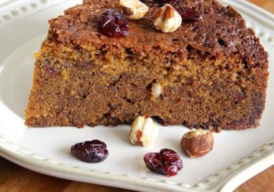 Cranberry-Hazelnut Coffee Cake