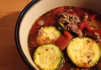 Slow Cooker Zucchini Soup