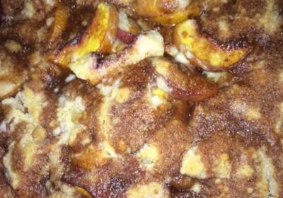 Peach Cobbler Dump Cake II