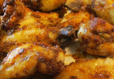 Pastrami Chicken Wings
