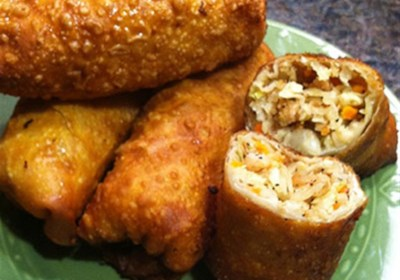 Jan's Simple and Tasty Egg Rolls