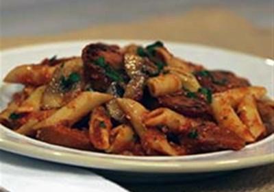 Smoked Sausage & Mushroom Pasta Marinara
