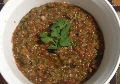 Smoky Four-Pepper Salsa