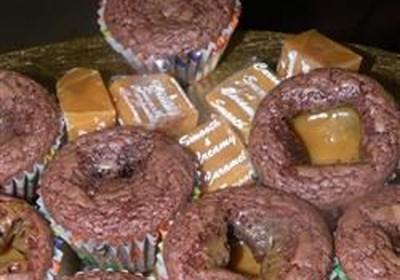 Caramel Brownies I