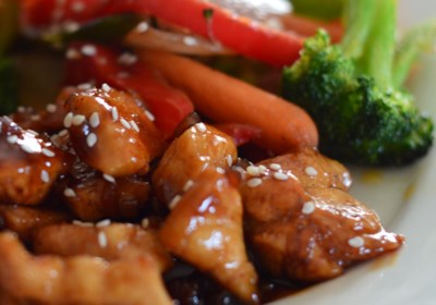 Sweet, Sticky and Spicy Chicken