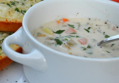 My Best Clam Chowder