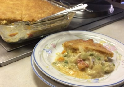 Granny's Easy Turkey Pie