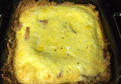 Low Carb and Gluten Free Quiche Lorraine