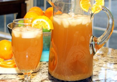 Peach Orange Iced Tea