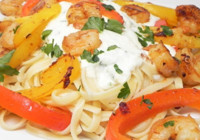 CraZee's Creamy Seafood and Pasta