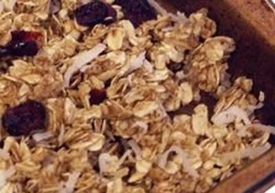 Cinnamon Stove Top Granola