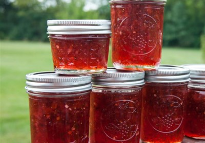 Strawberries and Champagne Jam