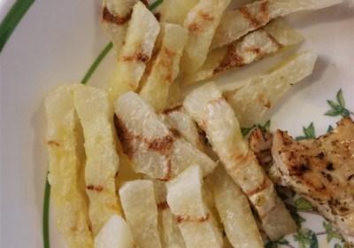 Jicama Zebra Fries