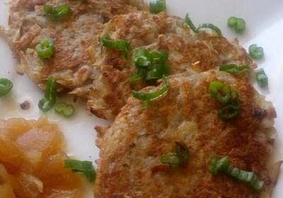 Bramboracky (Czech Savory Potato Pancakes)