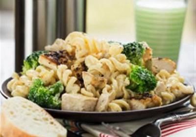 Lemon Chicken & Broccoli Alfredo
