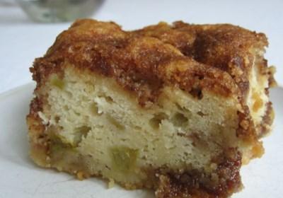 Rhubarb Cake I