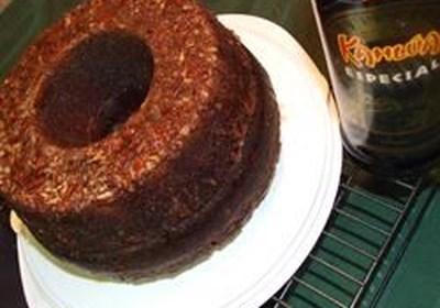 Chocolate Mocha Liqueur Cake II