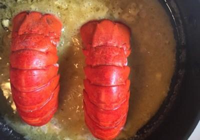 Orange Lobster Tail