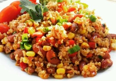 Amazing Mexican Quinoa Salad