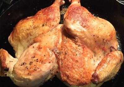 Chef John's Chicken Under a Brick