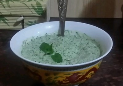 Yogurt-Mint Chutney